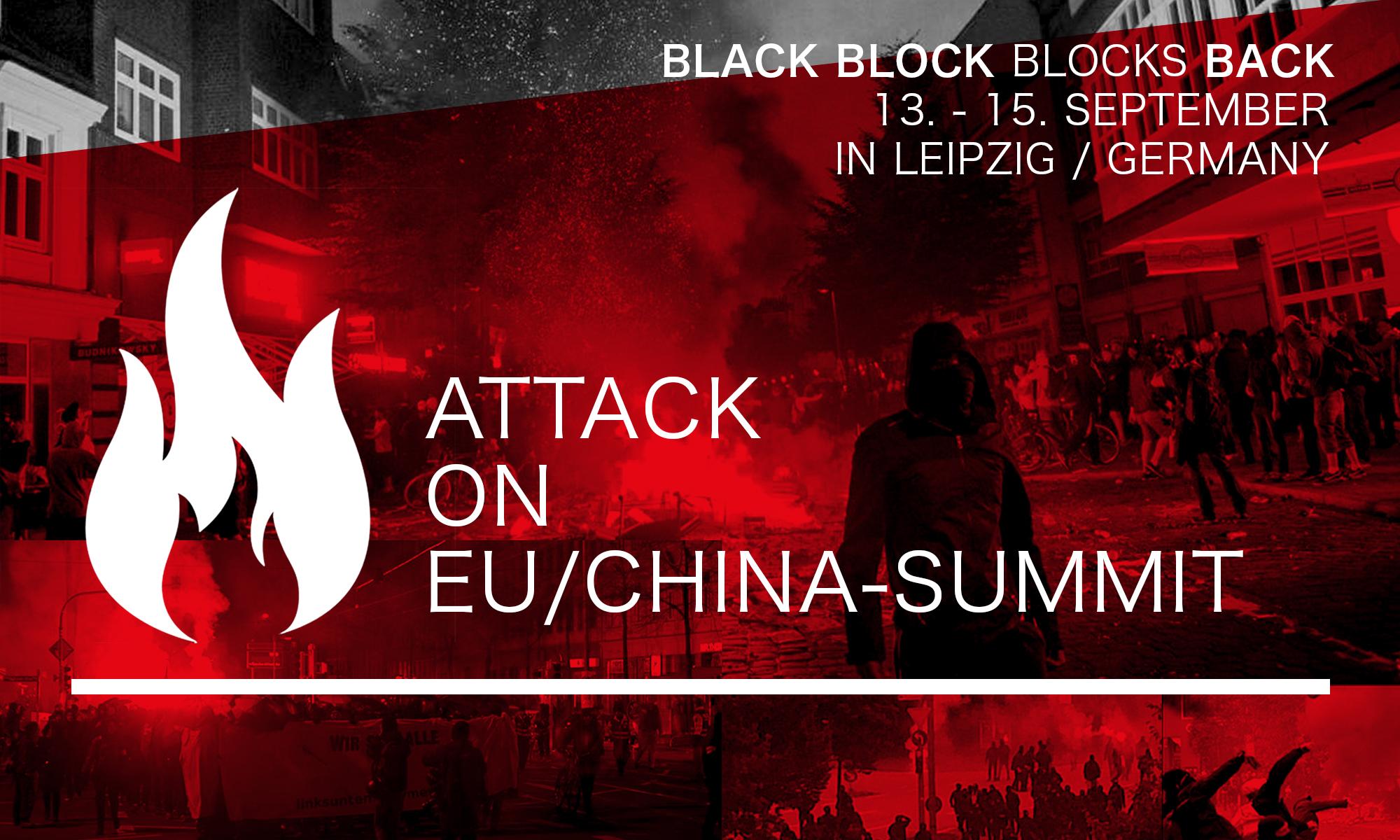 Gegen den EU-China-Gipfel in Leipzig